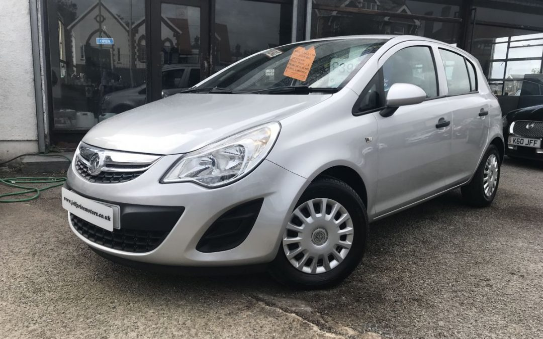 2011 (61) Vauxhall Corsa 1.2i 16v (85P) (a/c) S *2 Owners* – £3,995 Or Finance From £94.53 a Month/£21.82 a week