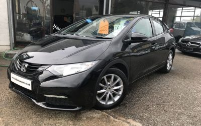 2014 (64) Honda Civic 1.4 (98bhp) S *2 Keys*- £6,495 Or Finance From £132.46 a Month/ £30.57 a Week