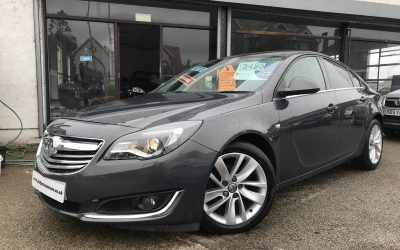 2013 (63) Vauxhall Insignia 2.0CDTi (163ps) (Nav) SRi – £5,495 or From £121.67 a Month/ £28.08 a week
