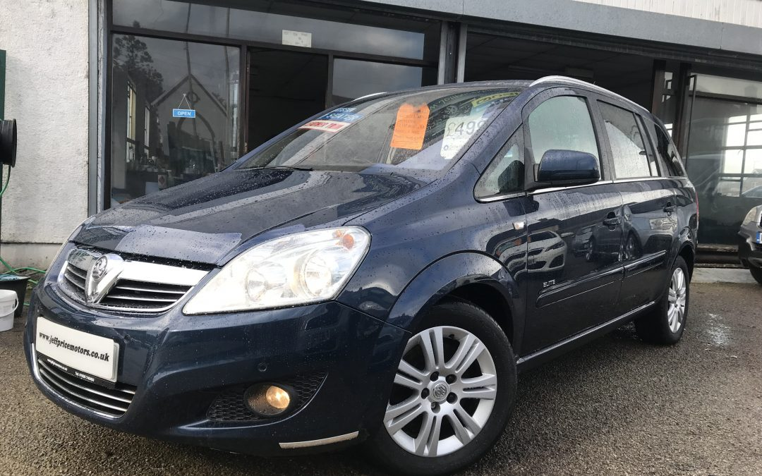 2011 Vauxhall Zafira 1.7CDTi Elite *Heated Seats* – £4,995 Or Finance from £100.41 a month/£23.17 a week