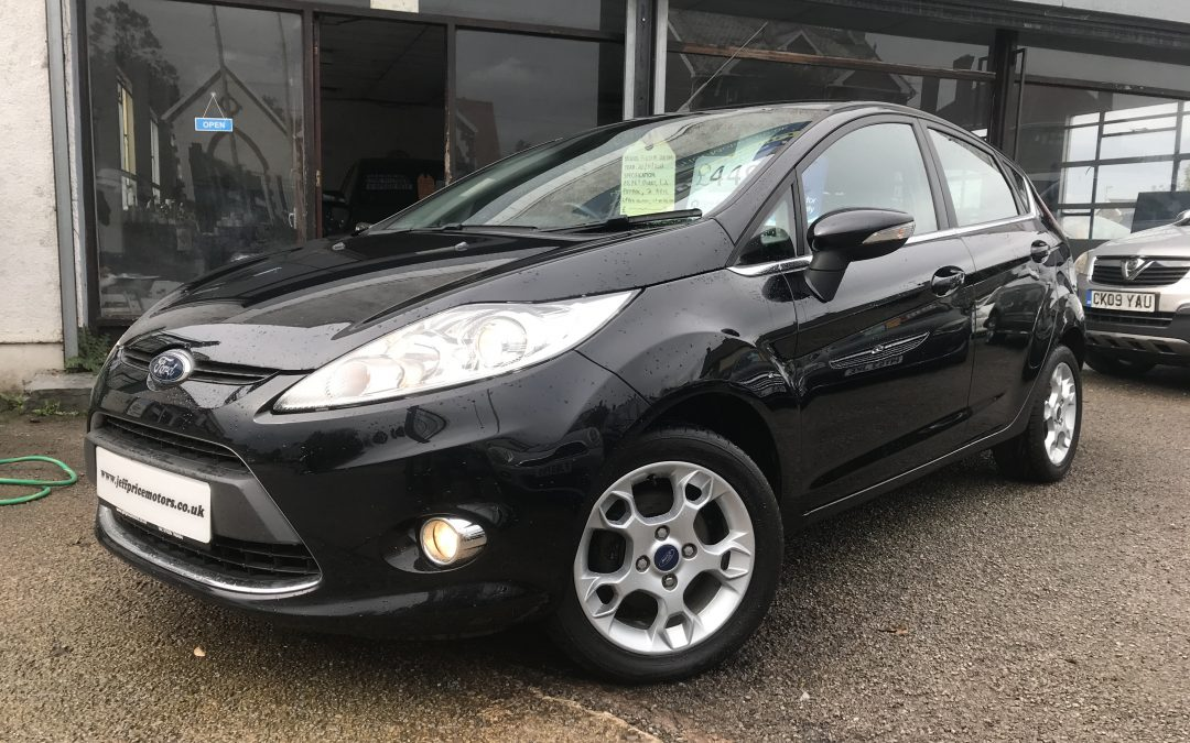 2011 (61) Ford Fiesta 1.25 ( 82ps ) Zetec *2 Keys, Up To 60 mpg, 2 prev owners* – £4,495 Or Finance From Just £102.94 a Month