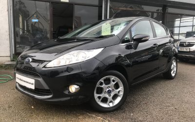 2011 (61) Ford Fiesta 1.25 ( 82ps ) Zetec *2 Keys* – £4,495 Or Finance From Just £89.73 a Month/ £20.71 a Week