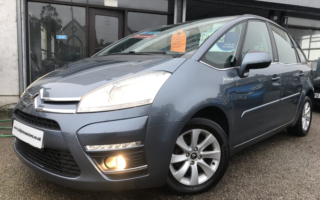 2011 (60) Citroen C4 Picasso 1.6HDi (110bhp) VTR+ *2 Keys, 6 Speed, Up To 62 MPG – £3,195 Or Finance From £86.73 a month/£20 a Week