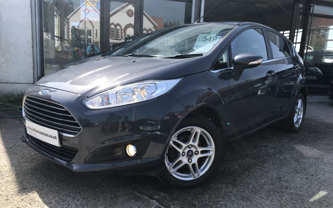 2012 (62) Ford Fiesta 1.25 (82ps) Zetec*£30 Tax, 2 Keys, Up To 60 MPG* – £5,495 Or Finance From £128.71 a Month