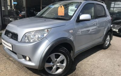 2008 (58) Daihatsu Terios 1.5 SX *2 Keys, Service History* – £4,995 Or Finance From Just £123.47 a Month/£28 a week