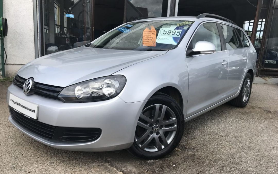 2012 (61) VW Golf 2.0TDI (140ps) SE Estate *2 Keys, full service history, 6 Speed, Up to 68 mpg*- £5,995 Or Finance From Just £141.60 a Month