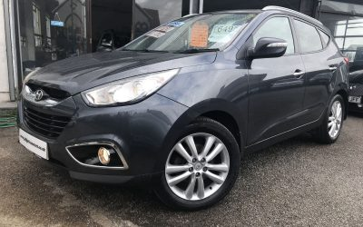 2011 (60) Hyundai IX35 Premium – All The Extras – £6495 Or Finance From £124.56 a Month/£29 a week