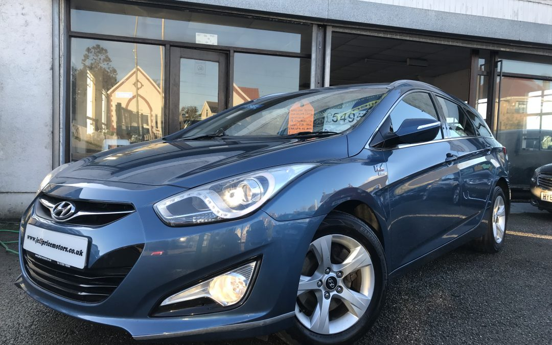 2012 (62) Hyundai i40 1.7TD (116ps) Active Estate *£30 Tax, Up To 76 MPG, 2 Keys* – £5,495 or finance from £111.10 a Month/ £25.64 a Week