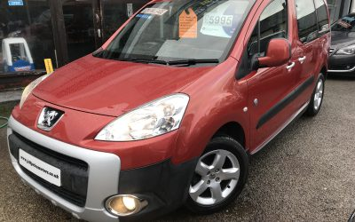 2012 (61) Peugeot Partner 1.6HDi 92 Tepee Outdoor *2 Keys, Up to 58 MPG* – £5,995 or Finance from £124.56 a Month/ £29 a Week