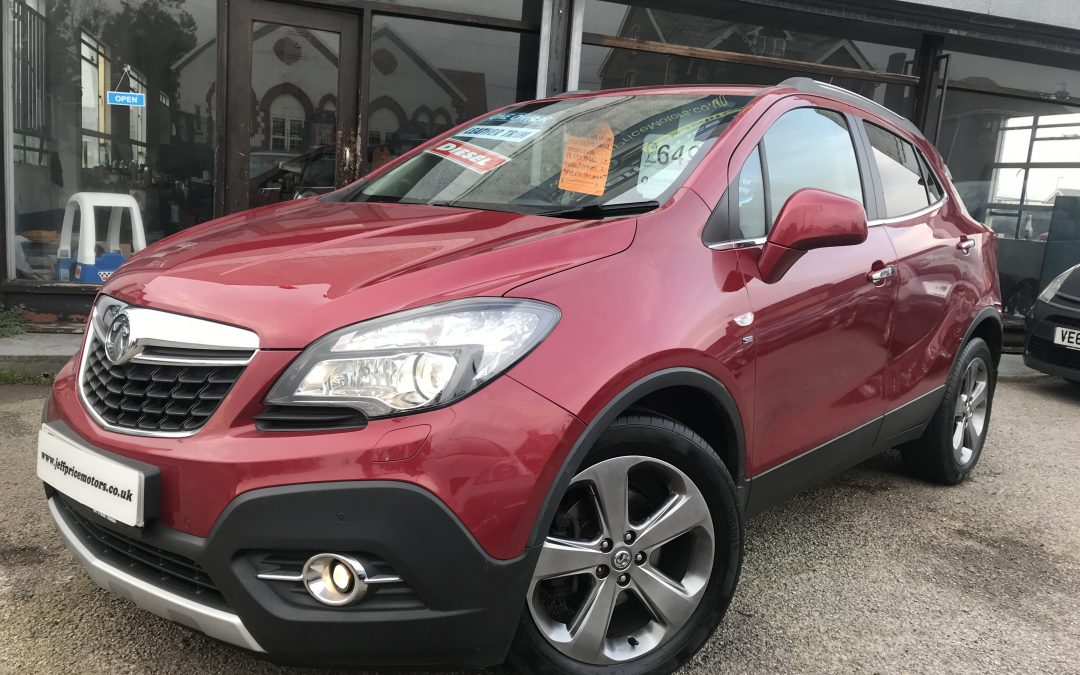 2013 (63) Vauxhall Mokka 1.7CDTi (130ps) SE *1 owner, £30 tax, Leather, 6 speed, up to 70 mpg* – £6,495 or finance from £140.44 a Month