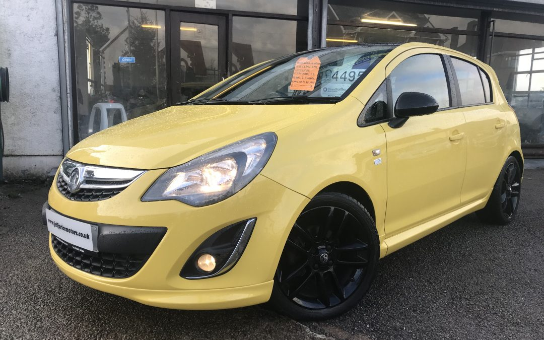 2013 (13) Vauxhall Corsa Limited Edition *2 keys, 2 owners, Black Roof, up to 62 mpg*- £4,495 or finance from just £89.73 a Month