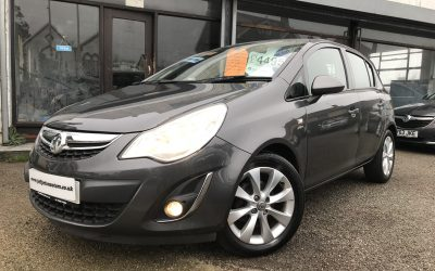 2012 (62) Vauxhall/Opel Corsa 1.2i 12v ( 85ps ) (a/c) Active *2 Keys, Half Leather Up to 62 MPG* – Finance From £102.94 a month