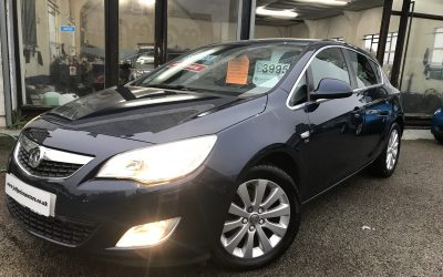 2011 (11) Vauxhall Astra Se Cdti – *£30 a Year Tax, Half Leather, 6 Speed, Up to 70 mpg* – £3,995 Or Finance from just £90.18 a Month