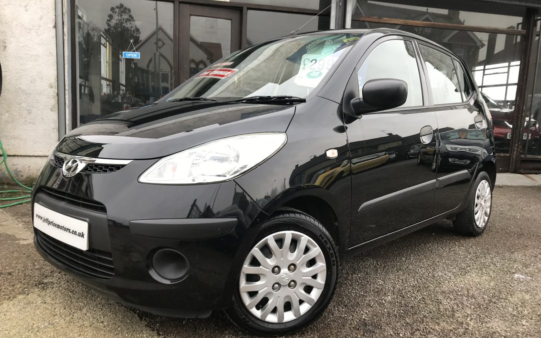 2009 (59) Hyundai i10 1.2 (76bhp) Classic *1 Owner, £30 Tax, Full Service History* – £2,995 Or Finance From Just £81.80 a Month