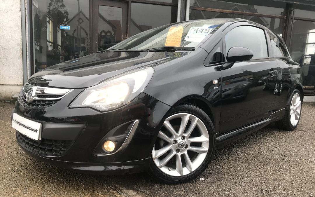 2012 (62) Vauxhall/Opel Corsa 1.4i 16v ( 100ps ) ( a/c ) SRi *SRI kit, 2 Prev Owners, Up to 61 MPG* – £4,495 Or finance from £89.73 a month