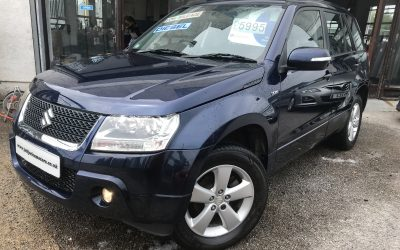 2010 (10) Suzuki Grand Vitara SZ4 *2 Keys, 2 Owners, Timing Belt Replaced* – £5,995 Or Finance From Just £141.60 a Month