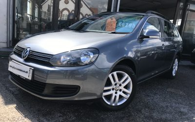 2013 (63) VW Golf TDI SE Estate Automatic *2 Keys, Up To 70 MPG, Unmarked Wheels* – £6,295 or finance from £129.74 a Month