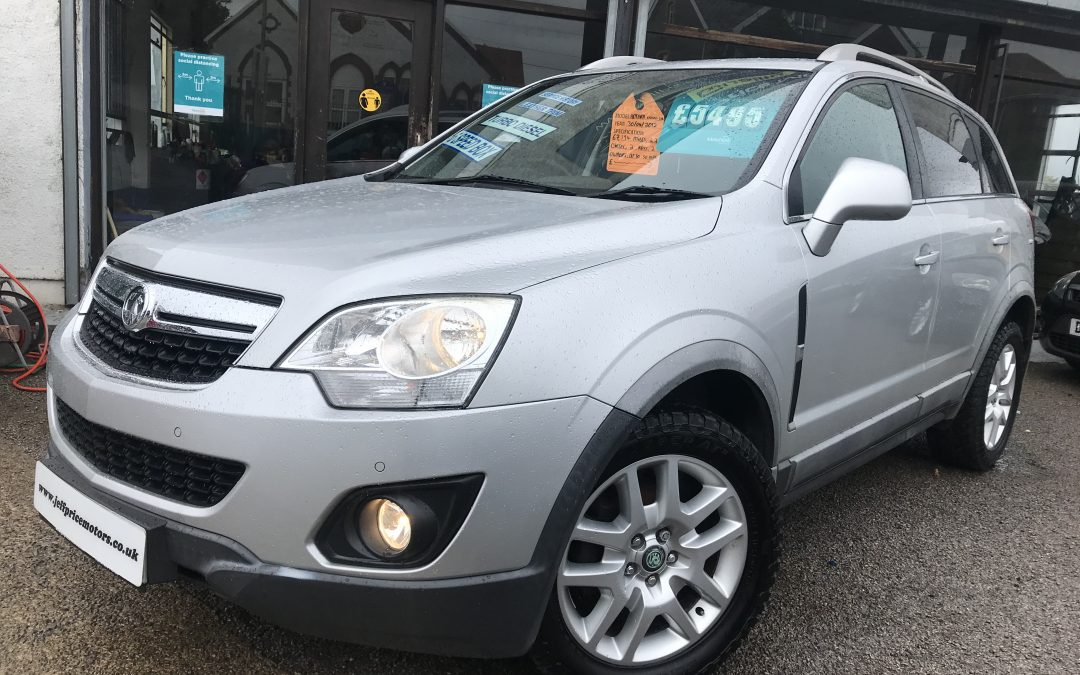 2012 (12) Vauxhall Antara Exclusive CDTI 4X4 *2 Owners, 2 Keys, Half Leather Heated Seats* – £5,495 Or Finance From £128.71 a Month