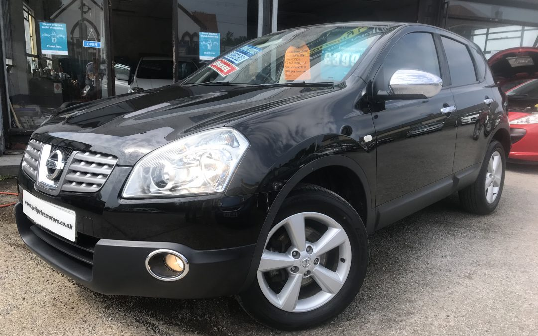 2009 (09) Nissan Qashqai Acena DCI *Last Owner since 2015, Up to 58 MPG, Service History* – £3,995 or Finance From just £114.54 a month