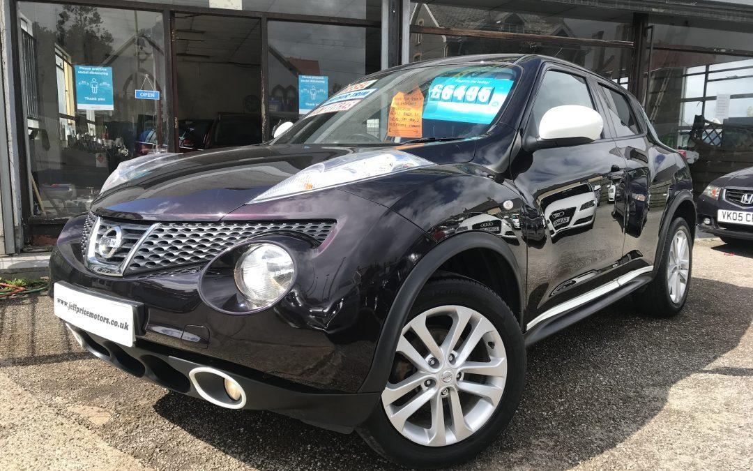 2013 (63) Nissan Juke Tekna DCI *2 Keys, 6 Speed, Sat-Nav, Reverse Camera, Heated Leather Seats* – £6,495 or Finance from just £129.74