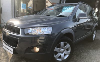 2012 (61) Chevrolet Captiva LT VCDI *7 Seater, Leather, 2 Keys, 6 Speed* – £4,495 Or Finance From just £103.07 a Month