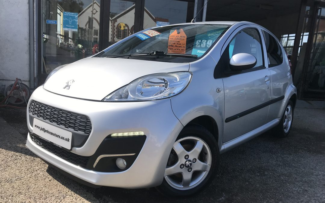 2013 (62) Peugeot 107 Allure *Free Road Tax, 2 Keys, 2 Owners From New, Up to 74 MPG* – £3,995 or finance from just £90.18 a Month