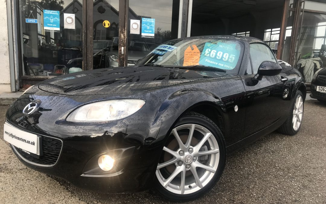 2010 (59) Mazda MX-5 Sport Tech Roadster *1 Lady Owner From new, 2 Keys, Electric Roof, 6 Speed* – £6,995 Or finance from 164.50 a month