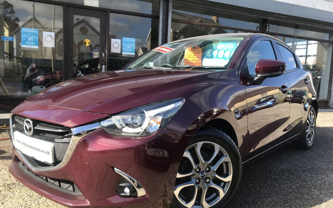 2017 (17) Mazda 2 GT Line Sport 1.5 *1 Owner from new, 2 keys, 6 Speed, Up to 68 MPG* – £9,495 or Finance From just £168.72 a Month