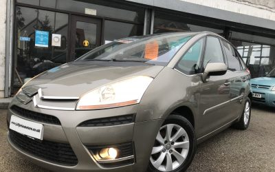 2007 (57) Citroen C4 Picasso Exclusive HDI Auto *2 Keys, will have new timing belt + waterpump on purchase, 2 prev Owners* – £2,395