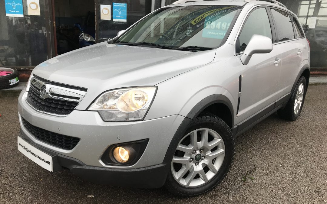 2012 (12) Vauxhall Antara Exclusive 4×4 *2 Keys, 2 Prev Owners, Leather Trim, 6 Speed* – £5,495 Or Finance From Just £128.71 a month