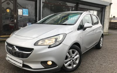 2015 (64) Vauxhall Corsa 1.2 Design *Dealer + 1 Owner, 2 keys, Service History, Up to 61MPG* – £5,495 Or Finance From just £128.71 a Month