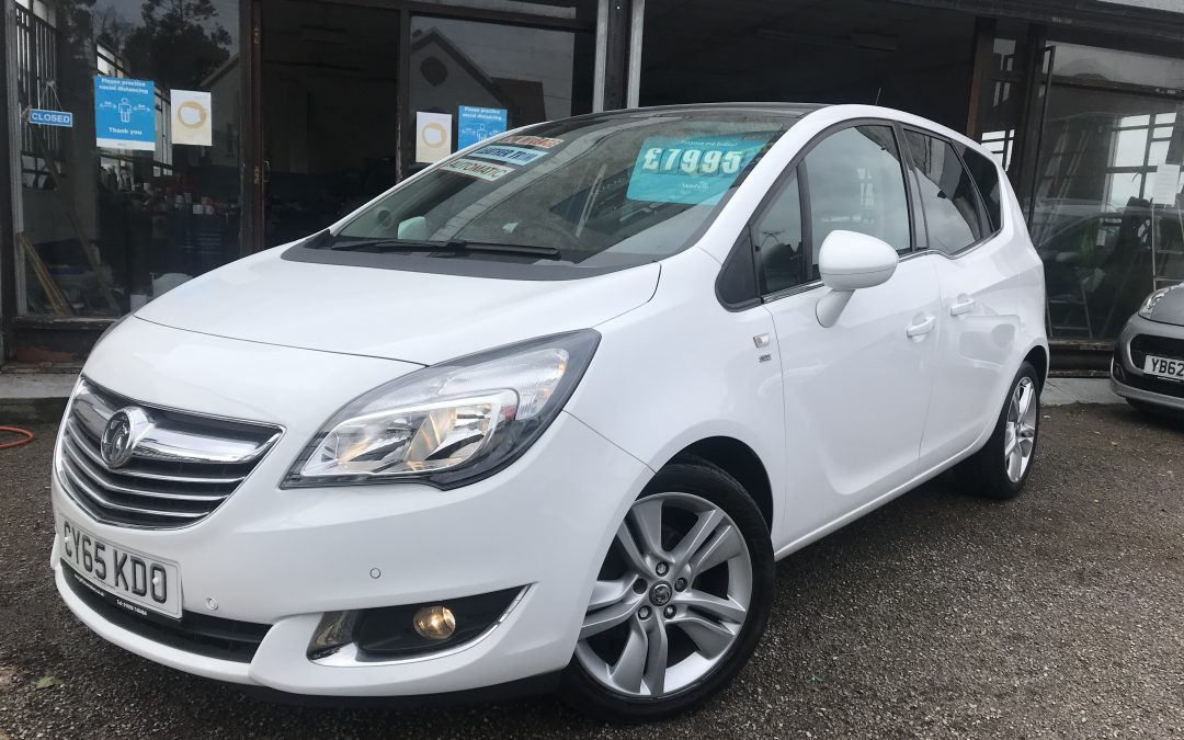 2015 (65) Vauxhall Meriva SE Auto *2 Keys, Panoramic Glass Sunroof, Cruise Control* – £7,995 or Finance from just £158.66 a month