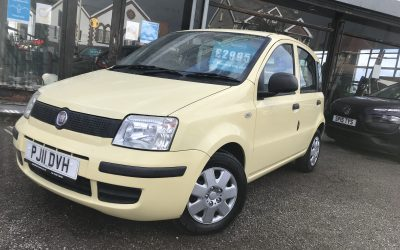 2011 (11) Fiat Panda Active *2 Owners, 2 Keys, New Timing belt + Mot on purchase* – £2,995 Or finance from just £80.66 a month