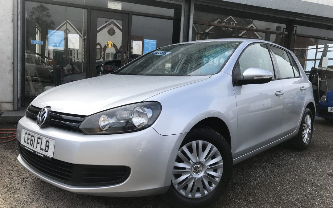 2011 (61) VW Golf TDI S *Timing Belt + water pump on purchase, £30 Tax, 2 Keys, 2 Owners, up to 74 mpg* – £4,995 or finance from just £113.88 a month