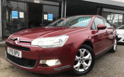 2010 (10) Citroen C5 VTR + Hdi *New timing belt + Water pump on purchase, 2 Keys, 6 Speed* – £3,195 or finance from just £80.66 a month