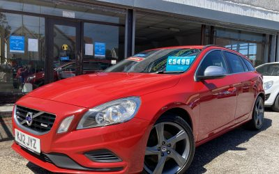 2012 (12) Volvo V60 R-Design Drive *Volvo + 1 owner, 2 keys, 6 Speed, Up to 68 MPG* – £5,495 or finance from just £105.77 a month